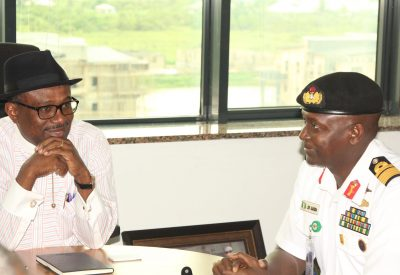 ES meeting with FOC naval command in yenagoa